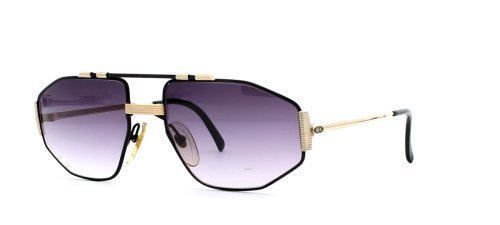 Christian Dior 2516 94 Black and Gold Authentic Men Vintage - Sunglasses Dior Retro