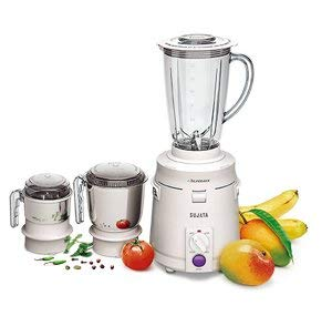 Sujata Supermix-AM-007 -Watt Juicer Mixer Grinder (White) 1