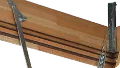 Echelle escamotable m/étallique Hauteur maximale sous plafond 3.05m