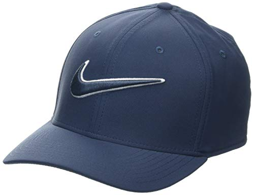 Nike Stretch Hat - Nike Classic99 Golf Hat (Thunder Blue, Medium/Large)