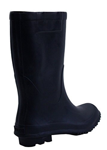 Girls Boot 4 Mud Sizes Wellies New Navy UK Wellington Real LakeLand Dark 7 Waterproof Dark Festival Navy Ladies Womens Rain Rubber Calf Mid xqqH4Z0wO