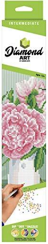Diamond Art by Leisure Arts - Powered by Diamond Dotz - 5D DIY Diamond Painting Kit -English Rose Design from LEISURE ARTS