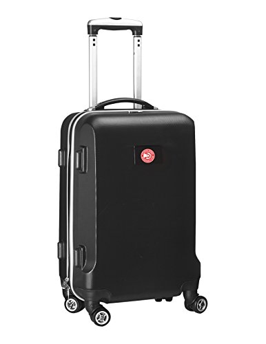 Denco NBA New Jersey Nets Carry-On Hardcase Luggage Spinner, Black