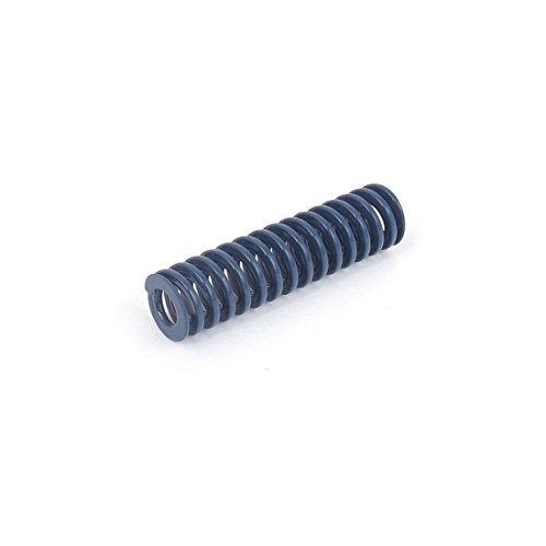 Die DealMux 8mmx30mm Chrom-Legierung Stahl Leichte Lastfeder Blau DLM-B018RSNQT8