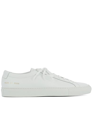 COMMON PROJECTS Men's 15280506 White Leather Sneakers