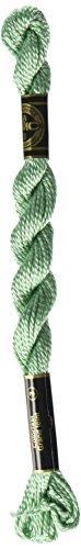 DMC 115 3-966 Pearl Cotton Thread, Medium Baby Green, Size 3