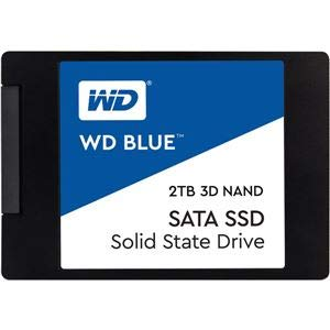 WESTERN DIGITAL(SSD) WD Blue 3D NANDシリーズ SSD 2TB SATA 6Gb/s 2.5インチ 7mmcased 国内正規代理店品 AV デジモノ パソコン 周辺機器 その他のパソコン 周辺機器 14067381 [並行輸入品] B07JK57VWK