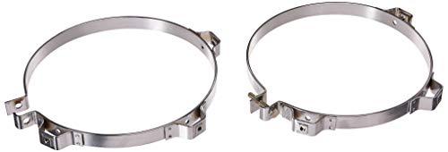 """Walker 35933 10"""" Chrome Muffler Shield Clamp Kit"""