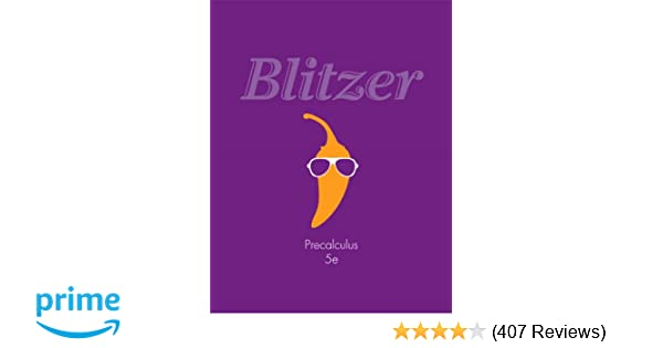 Precalculus 5th edition robert f blitzer 9780321837349 amazon precalculus 5th edition robert f blitzer 9780321837349 amazon books fandeluxe Choice Image