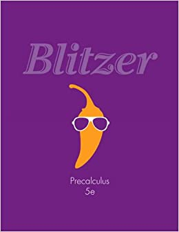 Precalculus (5th Edition): Robert F. Blitzer: 9780321837349 ...