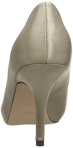 Men'sbur Riley, Women's Open-Toe Pumps Beige (Stone)
