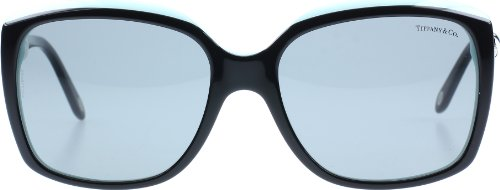 Tiffany 4076 80553F Black 4076 Square Sunglasses Lens Category - Sunglasses Tiffany