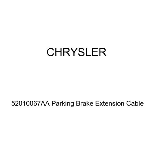 Genuine Chrysler 52010067AA Parking Brake Extension Cable