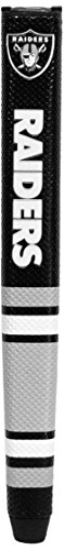 Team Golf NFL Oakland Raiders Golf Putter Grip with Removable Gel Top Ball Marker, Durable Wide Grip & Easy to Control