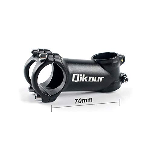 Glaray MTB Bicycle Stem 17 Degree Aluminum Alloy Mountain Bike Handlebar Stem,/ø31.8mm Black