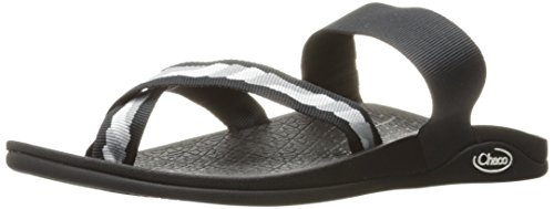 Chaco Women's Tetra Cloud Athletic Sandal, Helix Gray, 7 M US