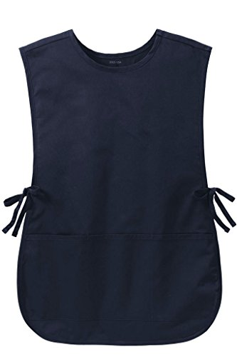 Joe's USA(tm) Easy Care Cobbler Aprons with Stain Release L/XL Navy
