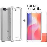 Capa Case Fumê + Pelicula de Gel Para Xiaomi Redmi 6A