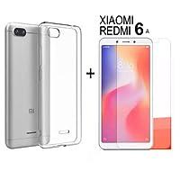Capa Case + Pelicula de Gel Para Xiaomi Redmi 6A