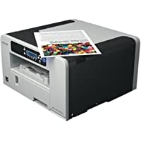Ricoh Imaging Company, Ltd. - Ricoh Aficio Sg 3110Dnw Gelsprinter Printer - Color - 3600 X 1200 Dpi Print - Plain Paper Print - Desktop - 29 Ppm Mono / 29 Ppm Color Print - 12 Ppm Mono Print / 12 Ppm Color Print (Iso) - 250 Sheets Input - Automatic Duplex Print - Lcd - Fast Ethernet - Wireless Lan - Usb Product Category: Printers/Laser & Inkjet Printers