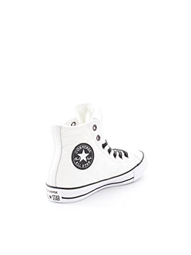 Converse Chuck Taylor All Star Hi Textile Quilted mixte adulte, synthétique, sneaker high