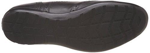 noir U44a5d43c9999 Geox 39 Uomo Sneaker black Nero x0II1Twq