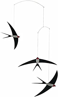 Flensted Mobiles Nursery Mobiles, Swallow Mobile