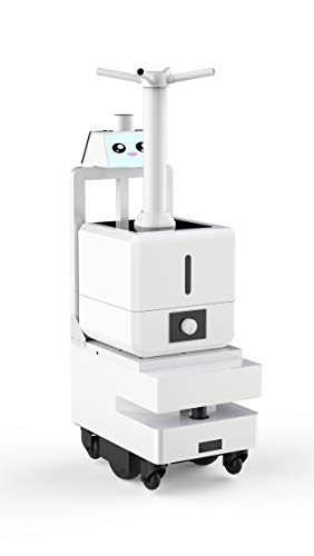 The Robot can Automatically Navigate, Avoid Obstacles and Disinfect Automatically. It is Suitable for Spraying Disinfection in Public Areas.