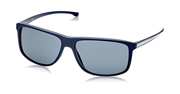Amazon.com: anteojos de sol BOSS Negro Boss 874/S 005 X Azul ...