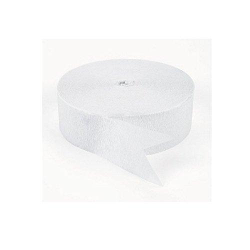 jumbo white streamer - 1