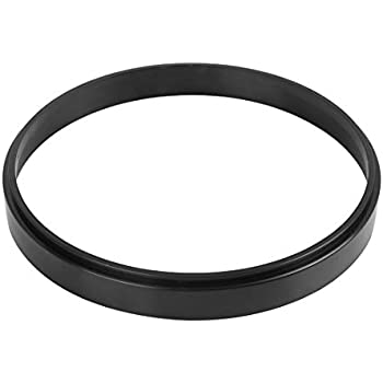 X AUTOHAUX 1 Inch Air Cleaner Spacer Riser Air Filter Spacer for Ford 350 Silver