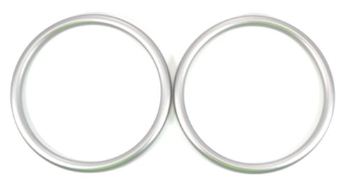 Roo Threads Aluminum Rings for Slings, Silver