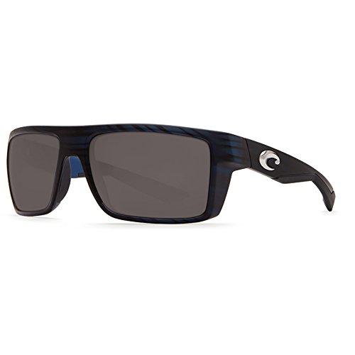 Costa Del Mar Motu Sunglasses, Black Teak, Gray 580 Plastic - Mar Motu Costa Del