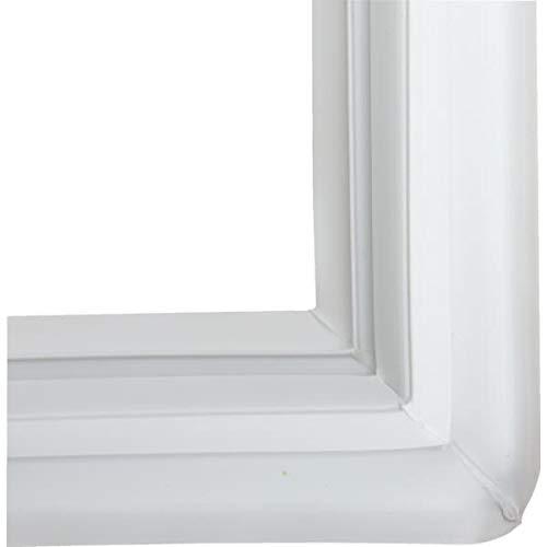 Ge WR24X10186 Refrigerator Door Gasket (White) Genuine Original Equipment Manufacturer (OEM) Part White ()