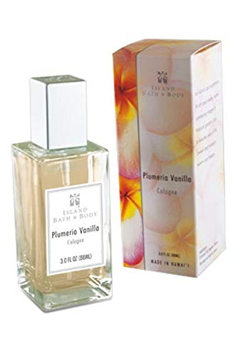 Island Bath & Body Plumeria Vanilla Cologne 3oz