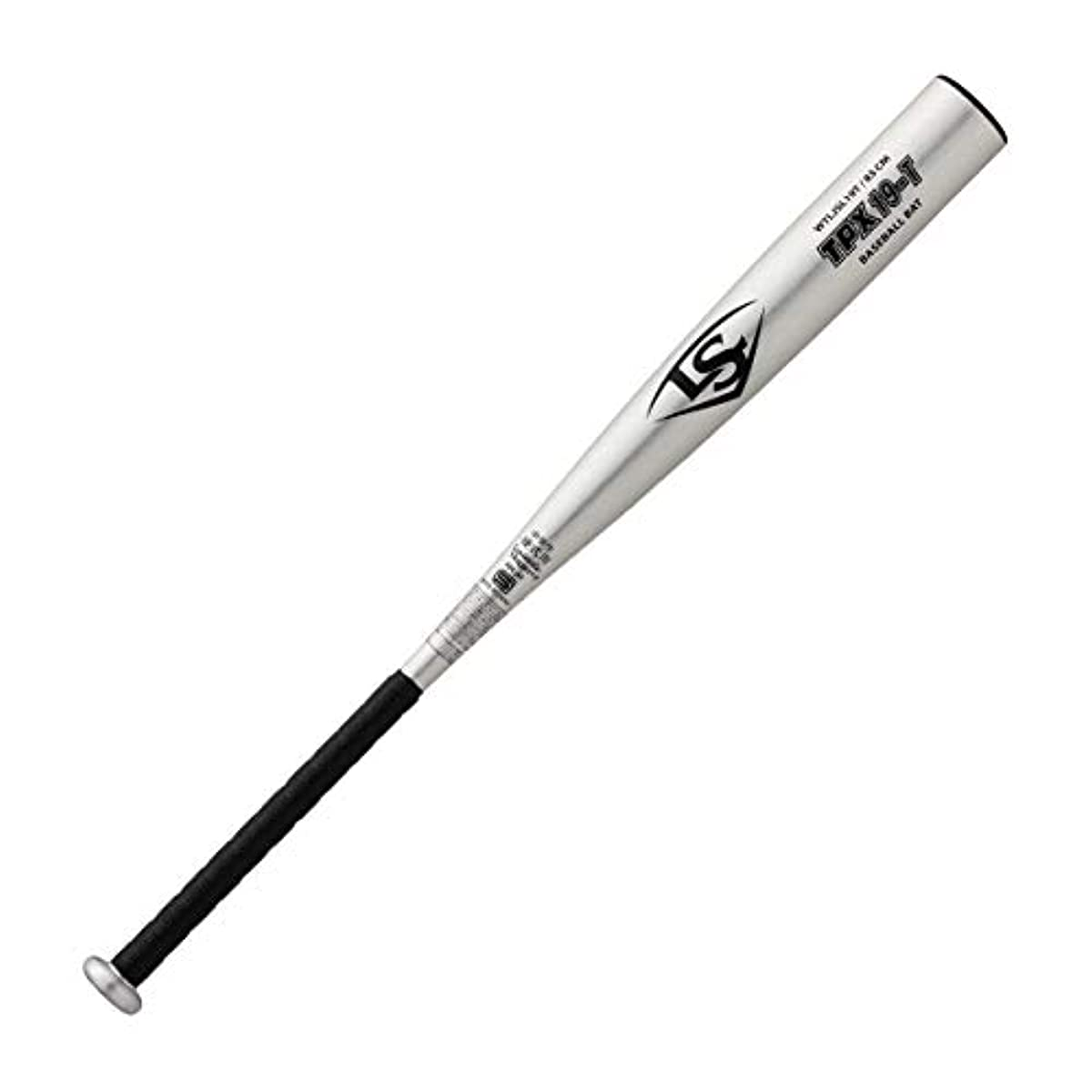 [해외] LOUISVILLE SLUGGER루이스 빌 슬러거 야구 경식용 배트 TPX티 pea X 중학생용 19M 19T 퍼터입/사이즈 베리에이션 있음/실버 블랙