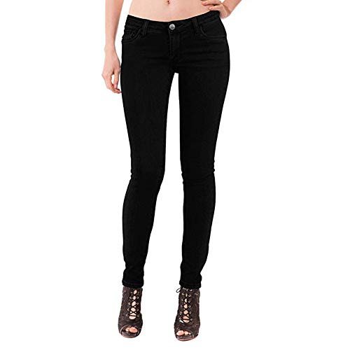 Women's Extreme Butt Lift Stretch Denim Jeans P46862SKX Black 16