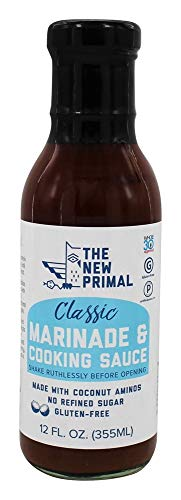 (The New Primal, Marinade And Cooking Sauce Classic, 12 Fl Oz)