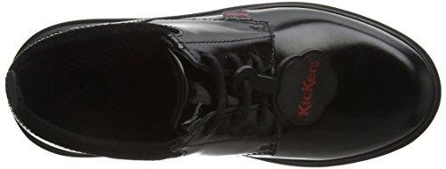 Kickers M&Aumldchen Kickmando Lace Junior Stiefel, Schwarz (Schwarz), 34.5 EU (2.5 UK)