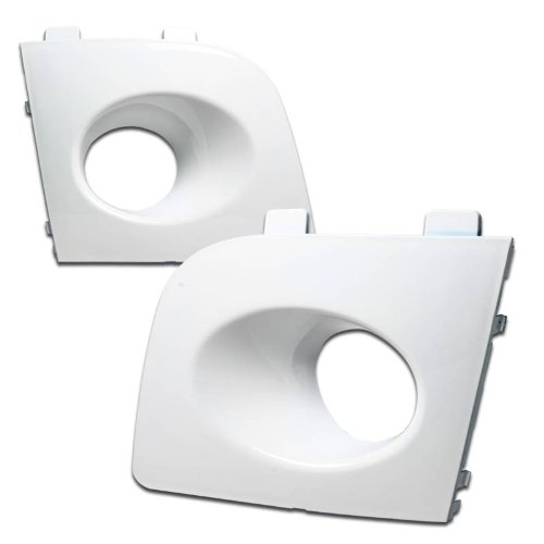 Wagon Wrx Sti (2006-2007 Subaru Impreza WRX STI Wagon Fog Light Cover - White 06 07)