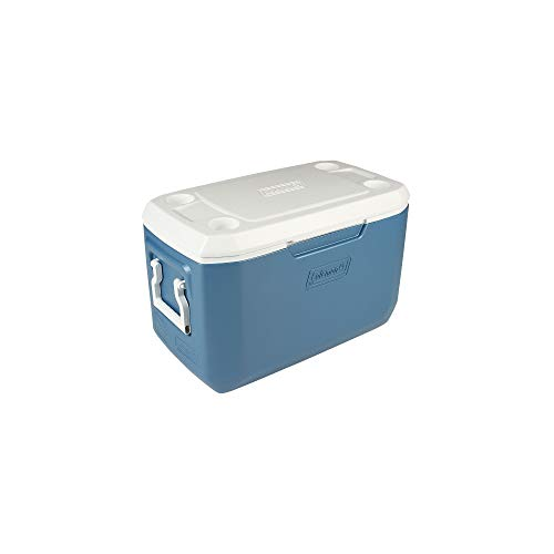 Coleman 70-Quart Xtreme 5-Day Heavy-Duty Cooler, Blue (Renewed)