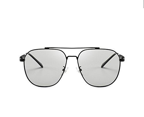 polarisées soleil couleur avec soleil de hommes lunettes HD lunettes UV changeante sol anti soleil lunettes lunettes femmes pour de anti baianf caméléon équitation outdor de pêche UVA Black intelligentes de SwqIct