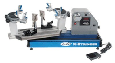 Gamma X-ES Tennis Stringing Machine, Blue/Silver (Stringing Machine)