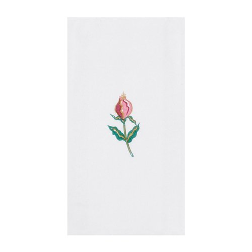 Hoffmaster 856515 Linen-Like Guest Towel, 1/6 Fold, 17