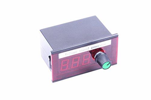 0-10v Voltage Signal Generator DC 12-35V Constant Current Source Stable Signal Source with 0.01v Adjustable Potentiometer, Voltage LED Display