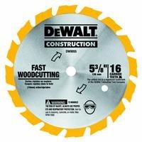 DEWALT DW9055 5-3/8-Inch 16 Tooth Series Arbor Carbide Circular Saw (Dewalt Dw935 Power Tool)
