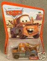 Disney Pixar Cars Mater the Tow Truck Series One 1st Series Mattel