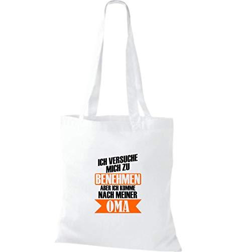 Shirtstown Bolso Blanco Sho09780 Mujer Para De Asas ZZ7rYq5