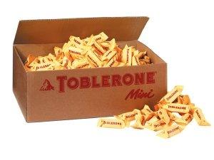 Toblerone Mini Total 4000 Grams 323 Mini Toblerone Pieces