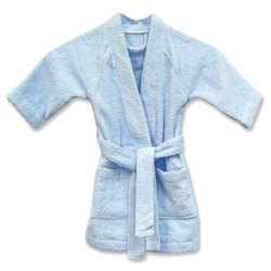 Colored Terry Robe - Blue